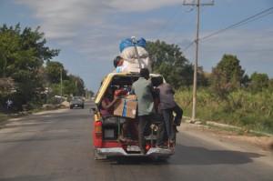 Haiti tap tap